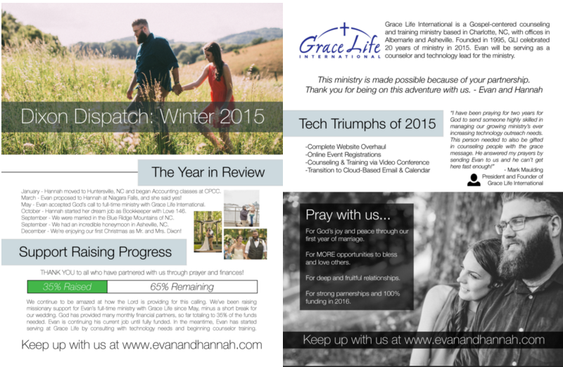 Dixon Dispatch – Winter 2015